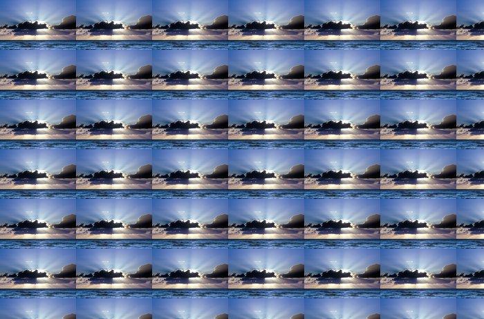 Vinylová Tapeta Krásný západ slunce - Voda