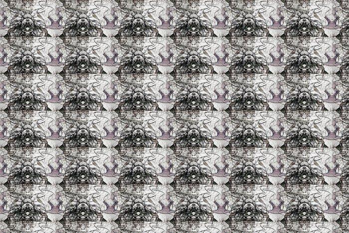 Vinylová Tapeta Expresivní abstraktní - Abstraktní