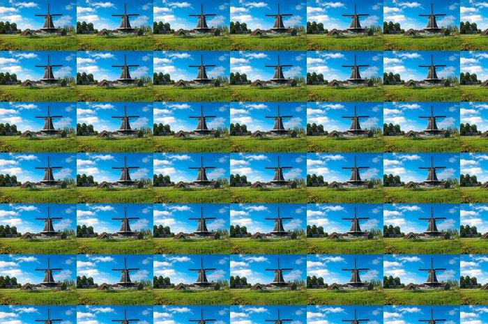 Vinylová Tapeta Holandský mlýn - Infrastruktura