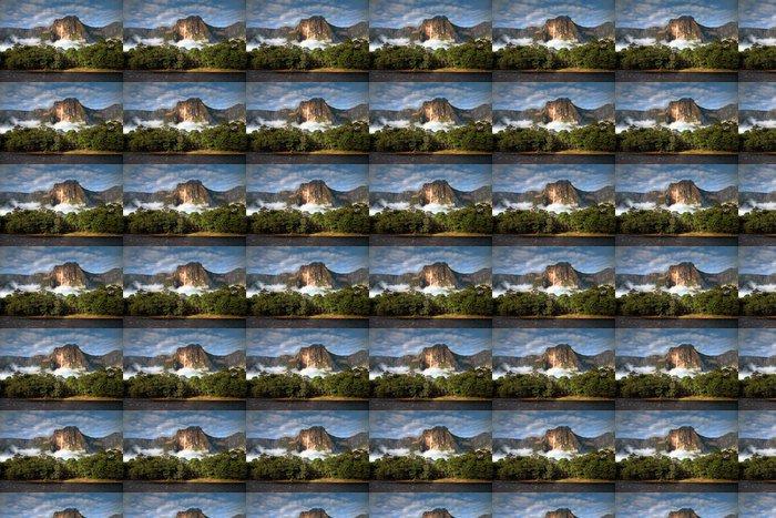 Vinylová Tapeta Angel Falls v ranním světle - Témata