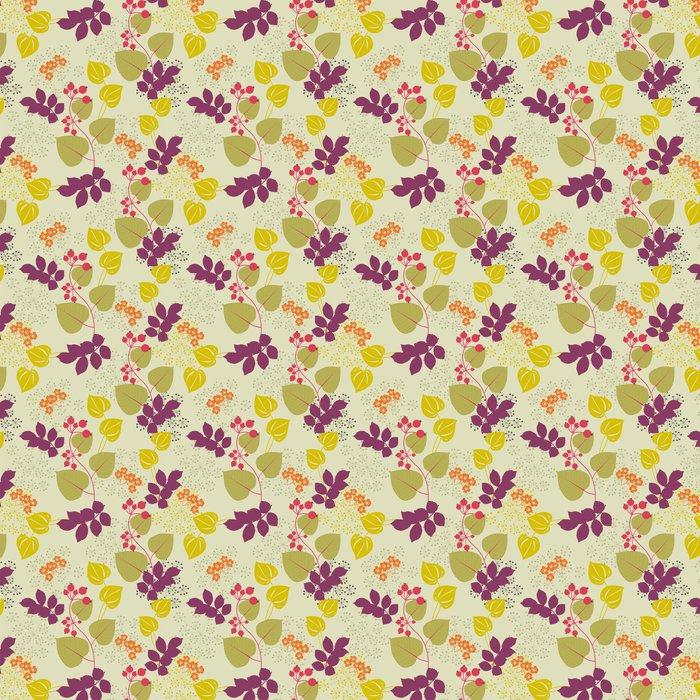 Papier Peint à Motifs Vinyle Decorative Floral Background - Arrière plans
