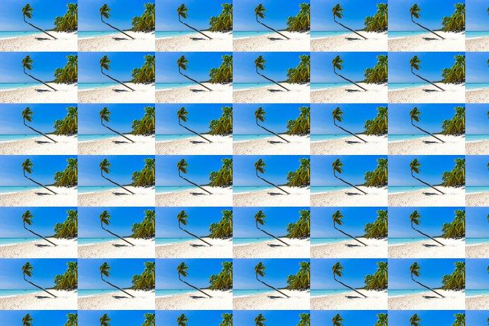 Vinylová Tapeta Beach a Palm tree - Voda
