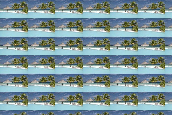 Vinyltapete Maldivian Island - Urlaub
