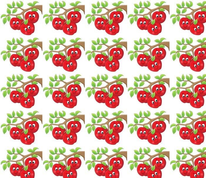 Vinylová Tapeta Obrázek s jablky 1 - Štěstí