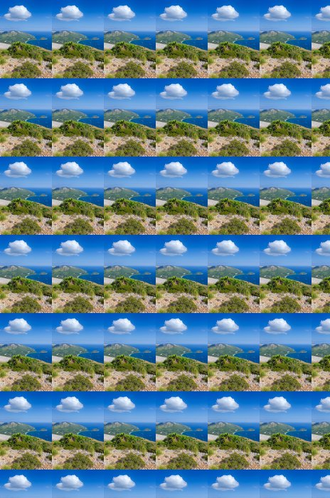 Vinylová Tapeta Vertikální krajina Formentor mysu - Evropa
