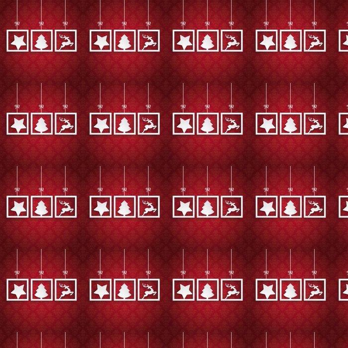 Tapete Roter Hintergrund Ornaments 3 Frames Weihnachten • Pixers ...