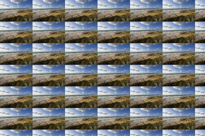 Vinylová Tapeta Sylt, am Roten Kliff v Kampenu - Prázdniny