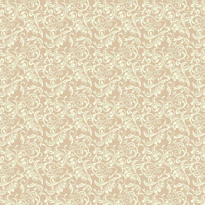 Vinylová Tapeta Bezešvé květinový vzor - Móda