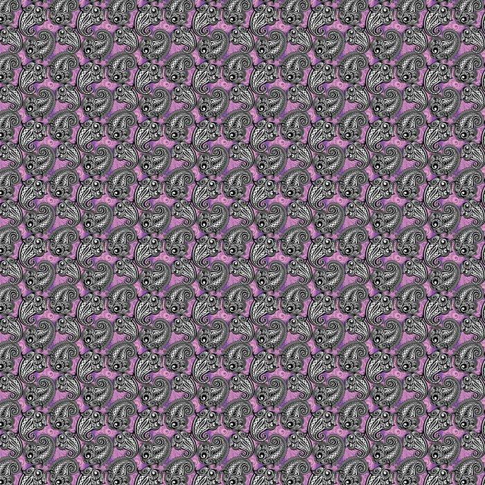 Vinylová Tapeta Paisley bezešvé krajkové vzor - Styly