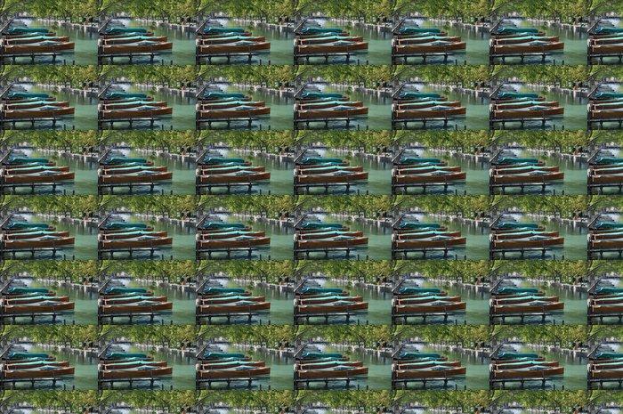 Vinylová Tapeta Mahagonového dřeva loď - Prázdniny