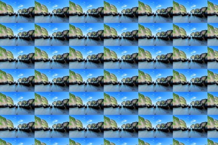 Vinylová Tapeta Čluny na ostrov Maya bay Phi Phi Leh, Thajsko - Voda
