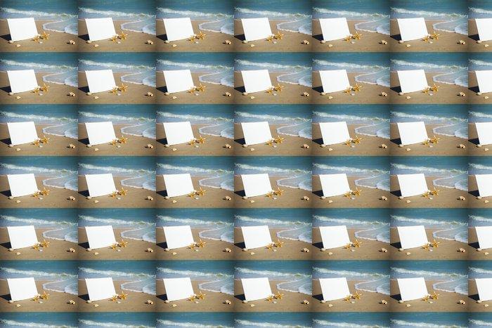 Vinylová Tapeta Letní / Blank Beach papíru na moři - Roční období