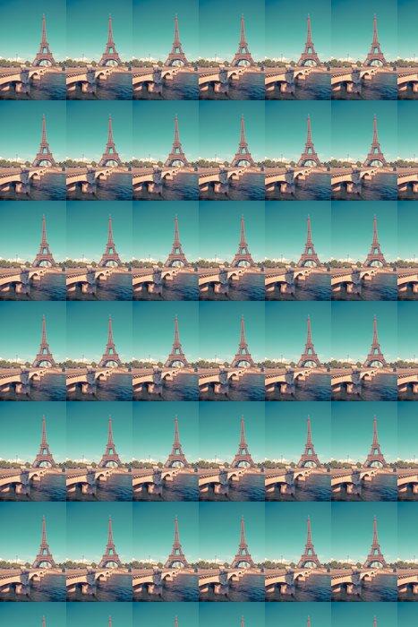 Vinylová Tapeta Eiffelova věž v Paříži, Francie - Evropská města