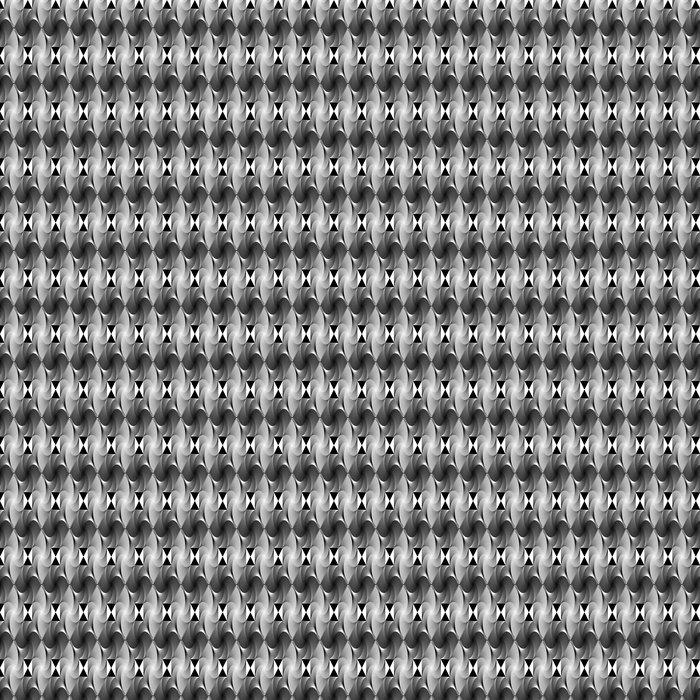 Vinylová Tapeta Design bezešvé monochromatický ozdobný geometrický vzor - Pozadí
