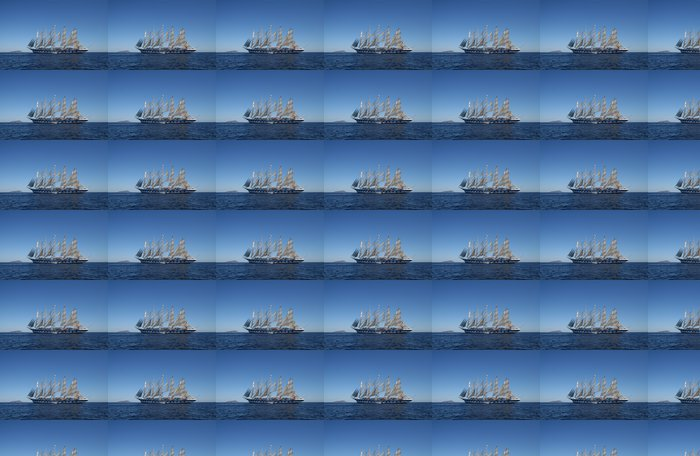 Vinylová Tapeta Royal Clipper u kotvy off Ponza, Itálie - Prázdniny