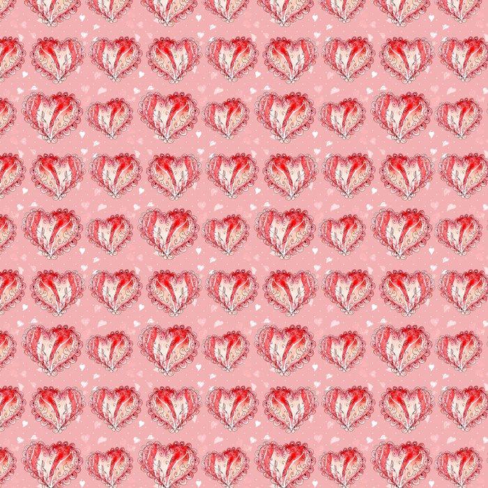 Vinylová Tapeta Abstraktní bezešvých textur akvarel - Umění a tvorba