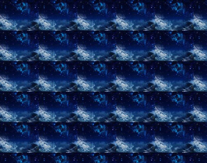 Vinylová Tapeta Krásné pozadí noční oblohy s hvězdami - Témata