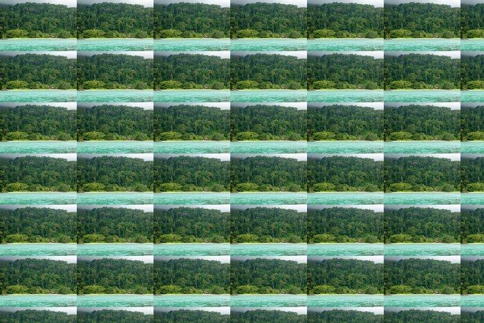 Vinylová Tapeta Tropická krajina - Ostrovy