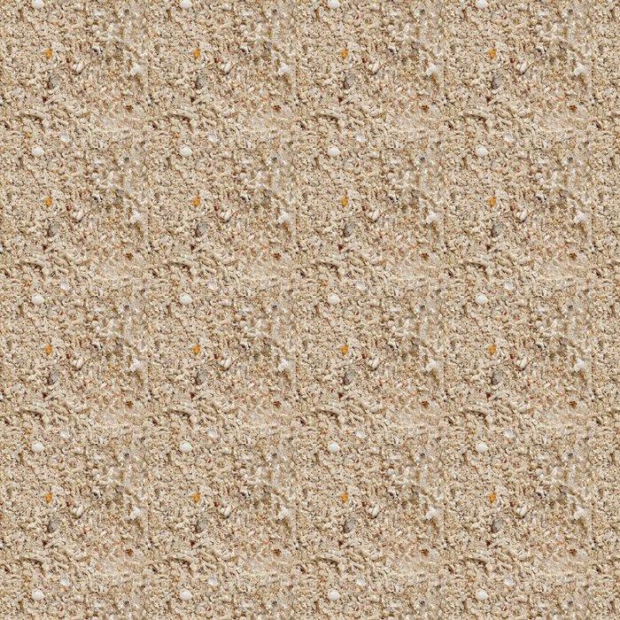 Vinylová Tapeta Měkké vlny na korálové pláži - Struktury