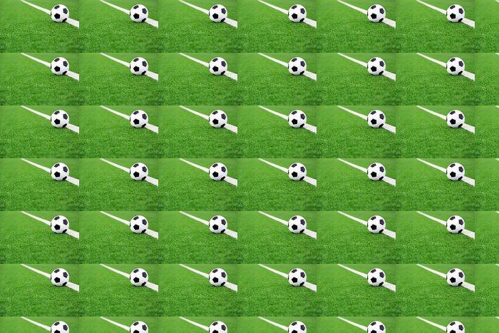 Vinylová Tapeta Tradiční fotbalový míč na fotbalovém hřišti - Témata