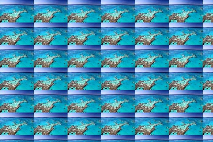 Vinylová Tapeta Tropical Reef vede k Blue Horizon - Oceánie