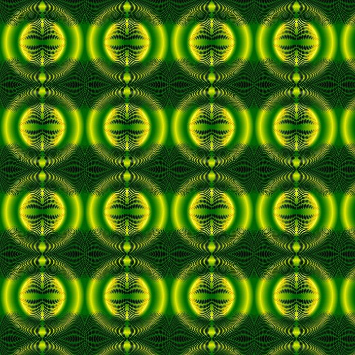 Vinylová Tapeta Pozadí zelené tečky vzor - Styly