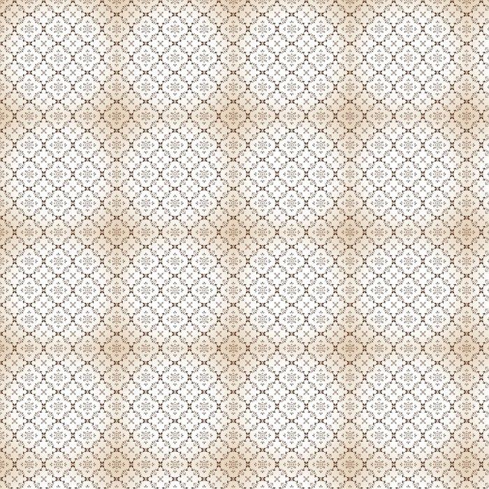 Vinylová Tapeta Bezešvé paisley tapeta v hnědé - Pozadí