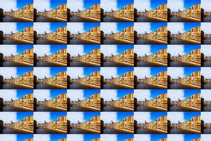 Vinylová Tapeta Den pohled na Girona - Evropská města