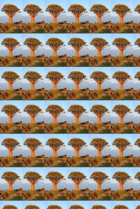 Vinylová Tapeta Toulec stromu (Aloe dichotoma), Namibie - Afrika