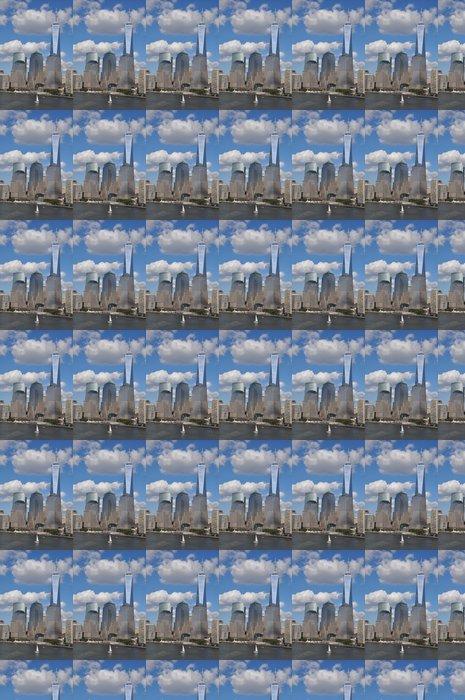 Vinylová Tapeta Nižší Manhattan Skyline s One World Trade Center - Americká města