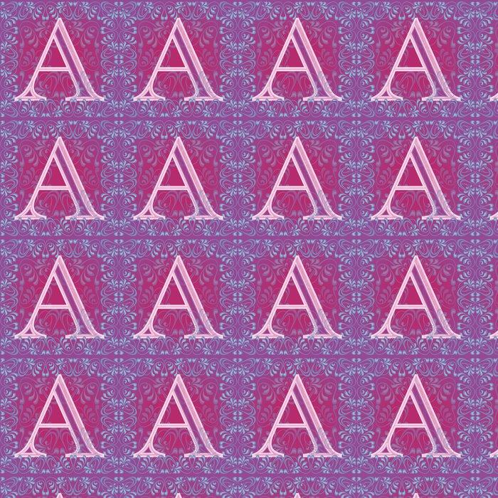 Vinylová Tapeta Letra rosa decorada - Témata