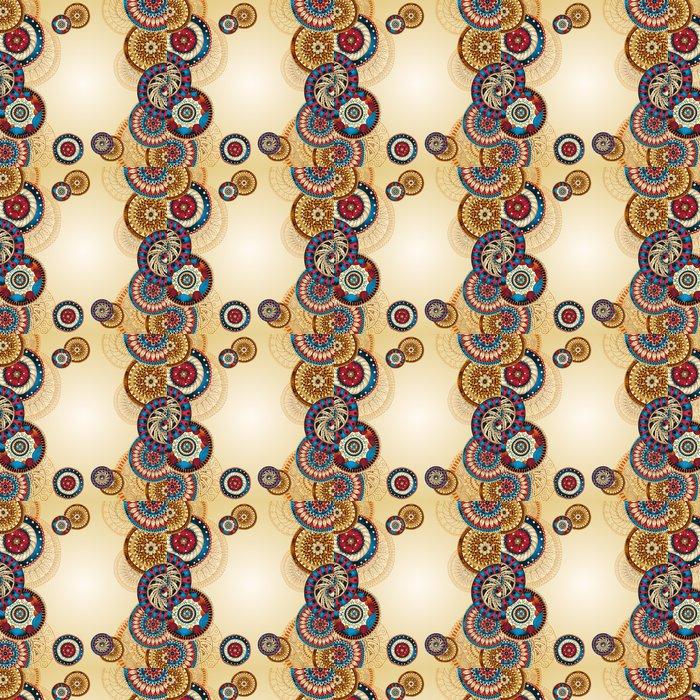 Vinylová Tapeta Vector abstraktní květinové dekorativní pozadí. - Styly