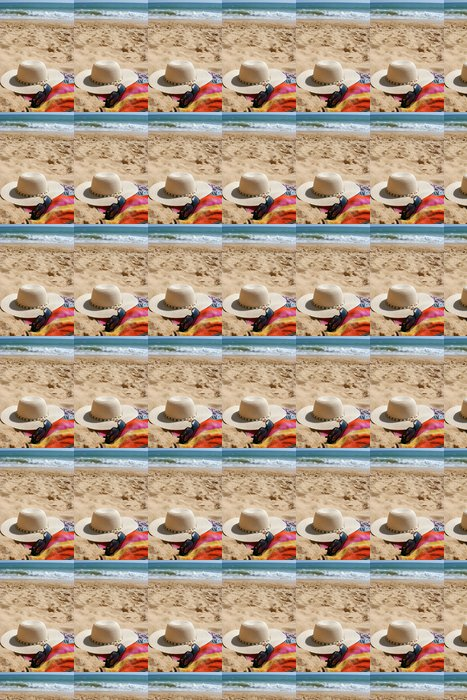Vinylová Tapeta Pláž položky - Prázdniny