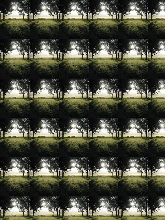 Vinylová Tapeta Lavičky v parku - Jiné pocity