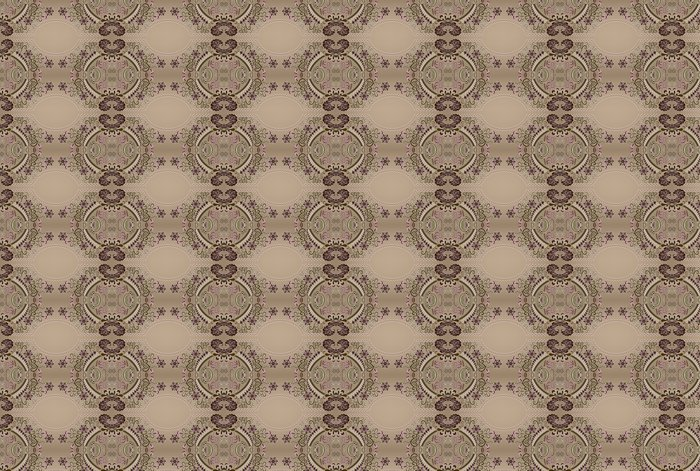 Vinylová Tapeta Bordó vzor s vlnitými oválného rámu - Styly