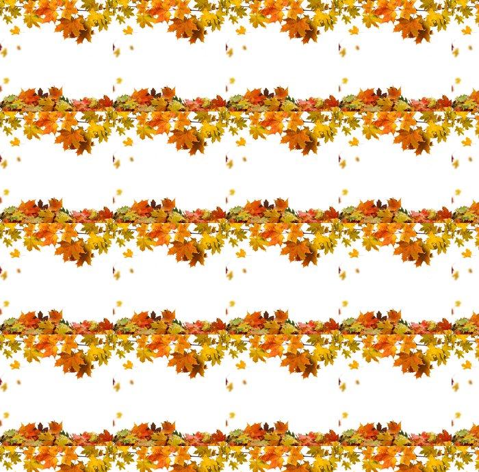 Vinylová Tapeta Autumn leaves - Roční období