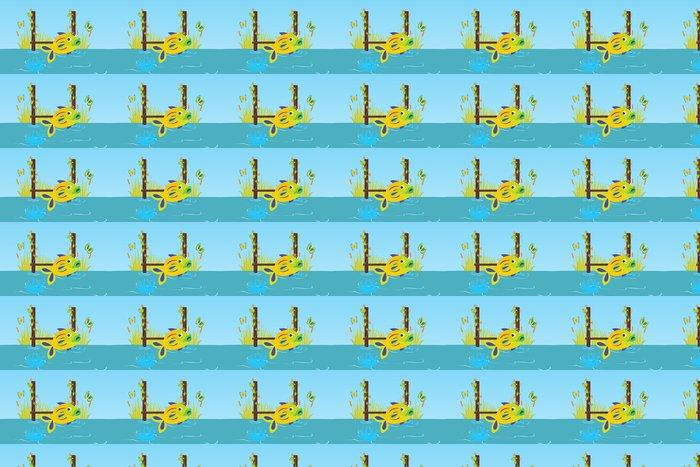 Vinylová Tapeta Ryba - Vodní a mořský život