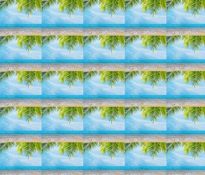 Vinylová Tapeta Palmy na pobřeží - Voda