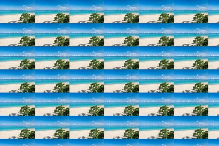 Vinylová Tapeta Ogimi Village Beach - Prázdniny