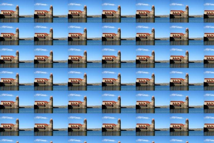 Vinylová Tapeta Collioure - Prázdniny