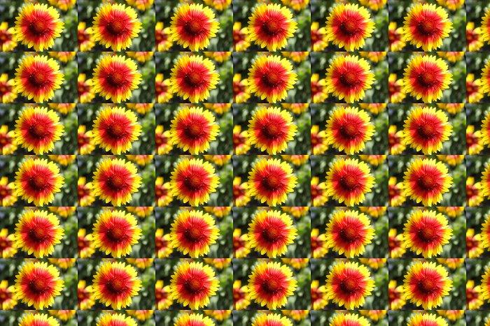 Vinylová Tapeta Fire Flower - Květiny