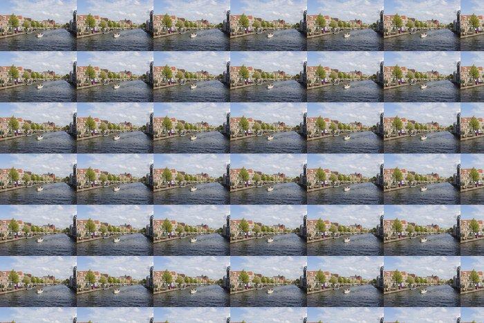 Vinylová Tapeta Canale olandese Leiden - Prázdniny