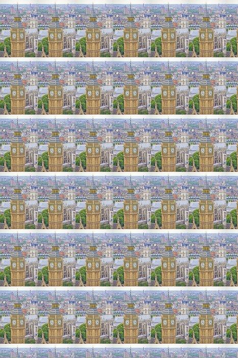 Vinylová Tapeta Pohled na Londýn a Big Ben - Témata