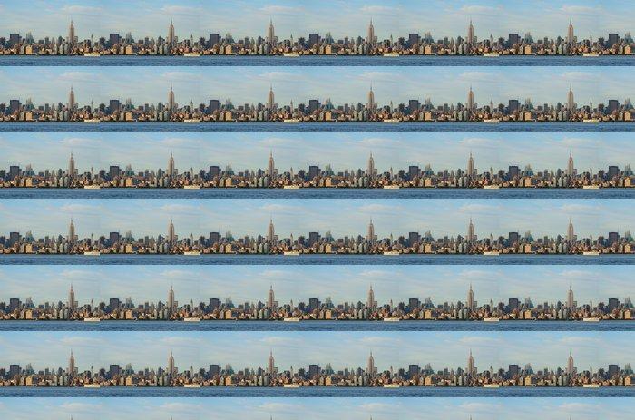 Carta da Parati a Motivi in Vinile Edifici punto di riferimento nel centro di Manhattan - Città Americane