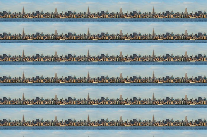 Landemærkebygninger i Midtown Manhattan Vinyltapet - Amerikanske Byer