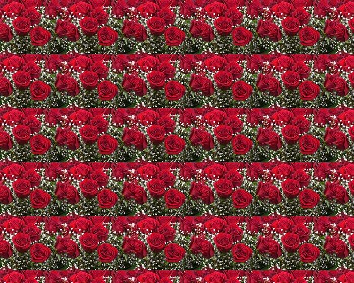Vinylová Tapeta Kytice z rudých růží. - Témata