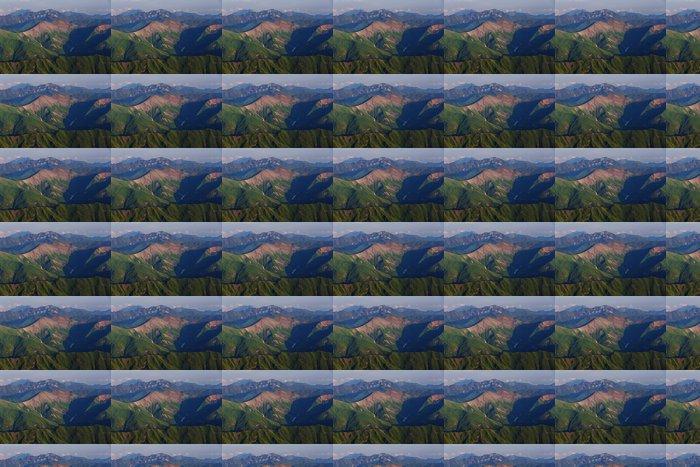 Vinylová Tapeta Hory na Kavkaze - Příroda a divočina