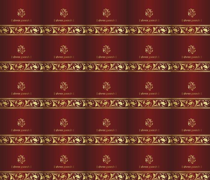 Vinylová Tapeta Ganesha, hinduistické svatební oznámení, královský Rajasthan, India - Slavnosti