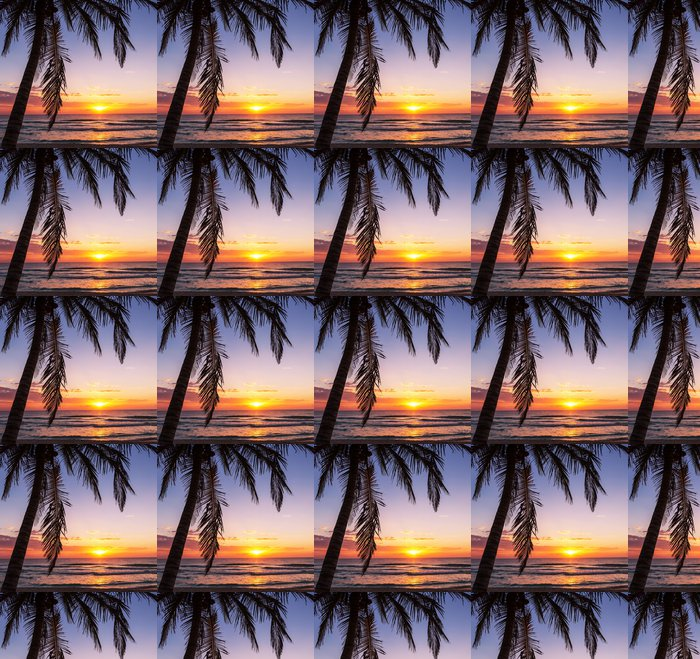 Tropical beach Vinyl Wallpaper - Holidays