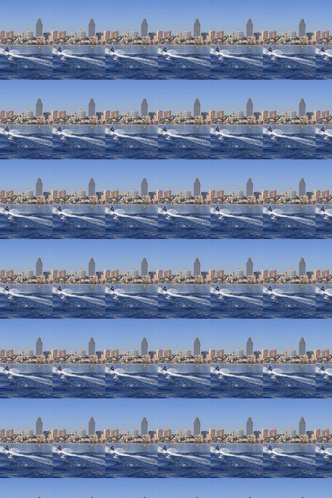 Vinylová Tapeta Benidorm Alicante Privince pláž od moře - Evropa